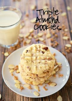 Triple Almond Cookie