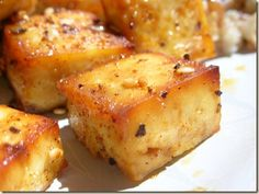 The Perfect Baked Tofu