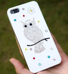 Owl cell phone cover