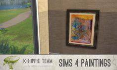 Paintings I classiKa I Vol.1 by k-hippie via tech-hippie.com I Sims 4 I TS4 I Maxis Match I MM I CC