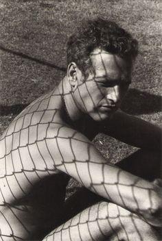 "Paul Newman durante el rodaje de ""La Leyenda del Indomable"" (Cool Hand Luke)…"