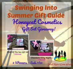 Honeycat Cosmetics Gift Set Giveaway (2 Winners!) ~ @honeycattweets @SMGurusNetwork ~ Tales From A Southern Mom