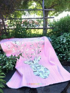 Stag Nation Quilt made by Stina Blomgren (kviltstina )