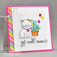 Get Well Soon from Joyful Creations with Kim, using new January 2015 products from Taylored Expressions.  #tayloredexpressions
