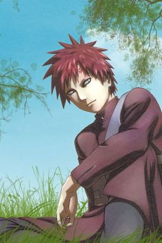 Gaara of the desert, see this is the reason why there is anime...cause real guys aren't as hot..
