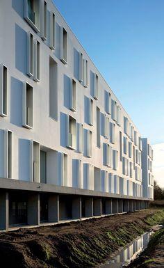 *다각적으로 풍경을 즐길 수 있는 입체적 파크하우스 [ BABIN+RENAUD ] Canopia Park Housing :: 5osA: [오사]