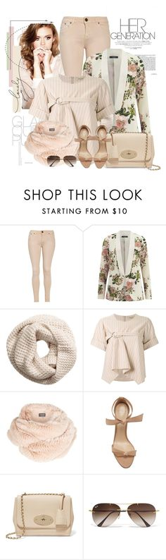 """""""Sem título #2529"""" by bellerodrigues ❤ liked on Polyvore featuring dVb Victoria Beckham, VILA, H&M, Fad Three, Harrods, Alexandre Birman, Mulberry and Ray-Ban"""