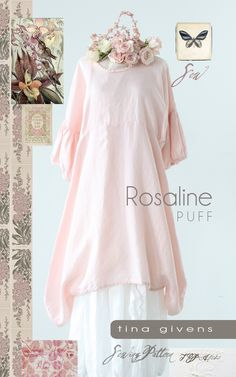 ROSALINE PUFF TG-A7028 Print - I would probably make this without the frilly cuff