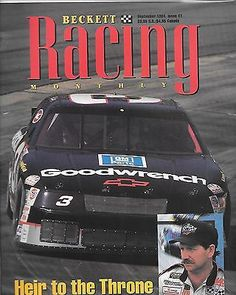 1994 Beckett Racing Monthly magazine Issue #1 Dale Earnhardt