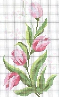 Discover thousands of images about Roses - Cross Stitch Chart . no color chart available, just use the pattern chart as your color guide. Cross Stitch Love, Cross Stitch Borders, Cross Stitch Flowers, Cross Stitch Charts, Cross Stitch Designs, Cross Stitching, Cross Stitch Embroidery, Embroidery Patterns, Cross Stitch Patterns