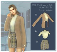 Source by alinashirina ideas anime Sims Four, Sims 4 Teen, Sims 4 Mm Cc, Mods Sims 4, Sims 4 Mods Clothes, Sims 4 Clothing, Sims 4 Cas, My Sims, Die Sims 4 Packs