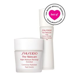 No. 11: Shiseido The Skincare Night Moisture Recharge , $42.50 TotalBeauty.com average member rating: 8.5* Why it's great: Shiseido Night Mo...