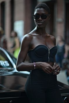 new york street style XXX Black Girl Magic, Black Girls, Beautiful Black Women, Beautiful People, Milk Studios, Black Girl Aesthetic, Dark Skin Beauty, All Black Everything, Black And Brown