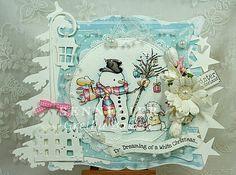 "Het kaartenhoekje van Gretha: Lili of the Valley ""Gifts on the Tree"""