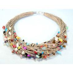Okazały naszyjnik z mixem minerałów Bracelets, Jewelry, Bangle Bracelets, Jewellery Making, Jewerly, Jewelery, Jewels, Bracelet, Jewlery