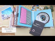 Summer Book | Island of Hvar 2019 - YouTube Large Scrapbook, Scrapbook Albums, Paper Craft Work, Paper Crafts, Summer Books, Island, Make It Yourself, Youtube, Tutorials