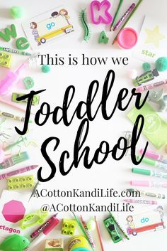 This is how we Toddler School. How to set up a Homeschool Preschool. What you need to teach Homeschool Preschool
