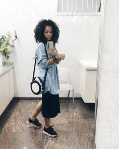 Looks preto, looks meia estacao, roupas minimalistas, looks para faculdade, Black Girl Fashion, Women's Summer Fashion, Modest Fashion, Look Fashion, Date Outfits, Chic Outfits, Fashion Outfits, Womens Fashion, Fashion Clothes