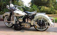 vintage harley davidson   1942 Harley Davidson WL Classic Motorcycle Pictures #HarleyDavidson #Vintage