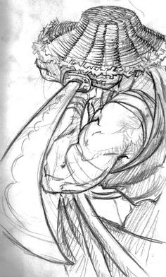 samurai sketch - Google Search