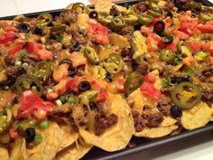 My Messy Cucina: Nachos
