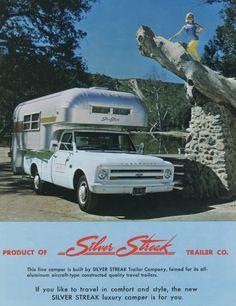 1968 Silver Streak On A 1967 Chevy C-10
