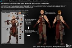 The Work Behind 'Blacksmith' Character