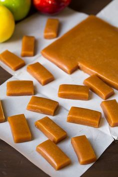 Apple Cider Caramels - Cooking Classy