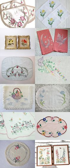 Exquisitely Embroidered by vintagelinens on Etsy--Pinned with TreasuryPin.com