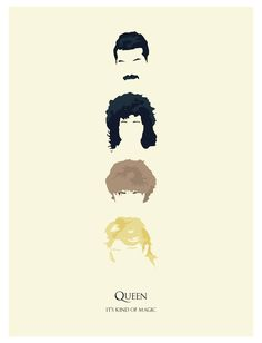My partner loves Freddie, Queen //I love them so much//