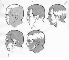 Расположение теней на лице человека в зависимости от местонахождения источника света.... фото #3