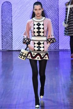 Emma Waldo at Olympia Le Tan, Fall 2015 #moda #fashion http://fashion.cd/post/127899446693 …