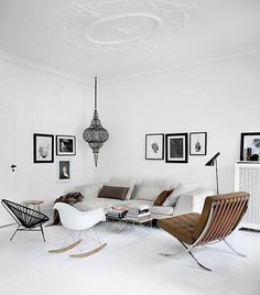 Beautiful Scandinavian Living Room