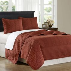 I pinned this Stonebridge King Coverlet Set from the Guest Room Refresh event at Joss and Main!