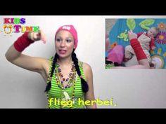 Kleine Schnecke | Lustiges Fingerspiel mit Text zum Mitsingen | Dainos vaikams vokiečių - YouTube