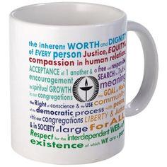UU 7 Principles Mugs on CafePress.com
