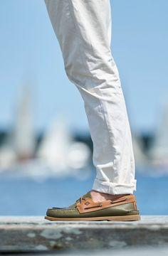 Stand out in Sperry boat shoes this school year.