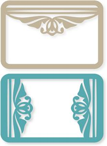 Silhouette Online Store: vintage frame cards