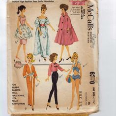 1960s Vintage Sewing Pattern McCalls 6260 by historicallypatterns