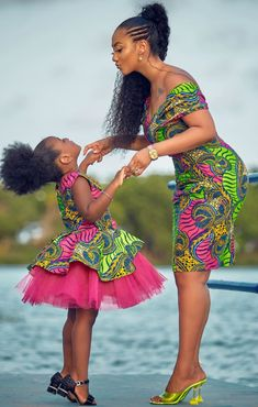 Baby African Clothes, African Dresses For Kids, Latest African Fashion Dresses, African Dresses For Women, African Print Dresses, Dresses Kids Girl, African Print Fashion, African Attire, Ankara Fashion