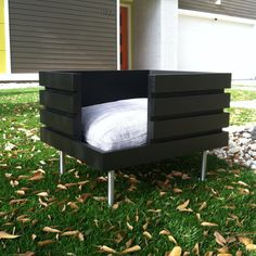 The Medium Flat is one of several Modular Dog bed and house designs. This bed is one of my original bed designs and each bed is custom made to your