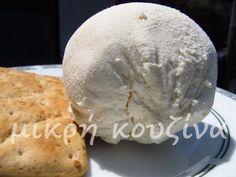 Τυρί από κεφίρ ΙΙ | μικρή κουζίνα Kefir Recipes, Diet Recipes, Food And Drink, Bread, Cheese, Breakfast, Homemade Products, Crafts, Morning Coffee