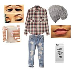 In Your Boyfriend's clothes by batgirlsupergirl on Polyvore featuring polyvore, fashion, style, Étoile Isabel Marant, Abercrombie & Fitch and Casetify
