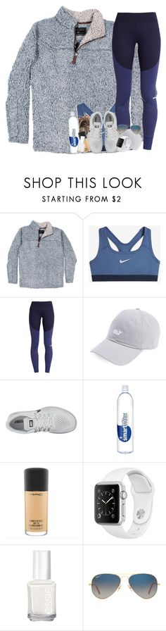 """bout to start weight training on tuesday"" by sophie-dye ❤ liked on Polyvore featuring True Grit, NIKE, adidas, Essie and Ray-Ban"