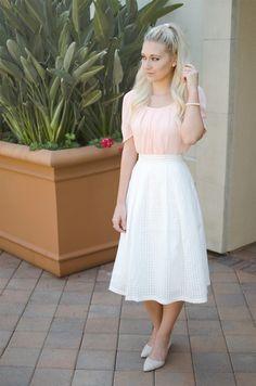 Blush & White ~ Bay Area Blonde