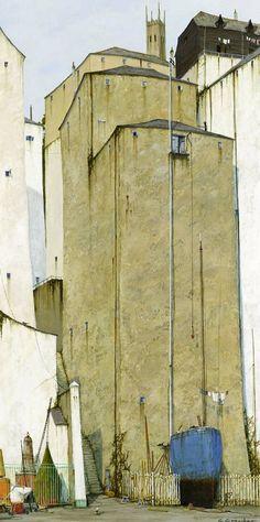 forma es vacío, vacío es forma: Cyril Croucher - pintura