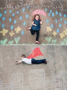 Creative and Fun to do with your Kids! Perhaps use the superhero for a Father's Day Gift???