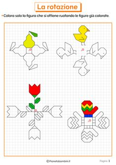 Math Crafts, Crafts For Kids, Graph Paper Drawings, Math 5, Muggulu Design, Teaching Geography, Square Quilt, Primary School, Pixel Art
