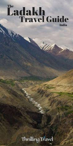 A Ladakh Travel Guide: Explore the land of mountain passes - Thrilling Travel If Ladakh is your next travel destination, then this Ladakh Travel Guide is what you need to plan your trip here. Make you checklist of what to pack, where to book, how to trave Srinagar, India Travel Guide, Asia Travel, Travel Destinations In India, Travel Nepal, Spain Travel, Thailand Travel, Italy Travel, Travel Guides