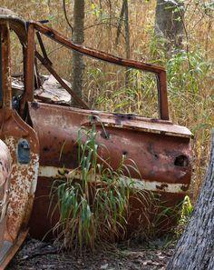 Old Chevy door.